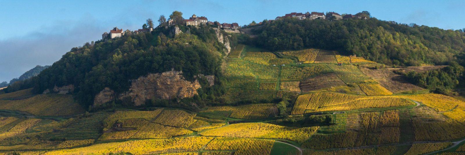 Vue panoramique de Château-Chalon