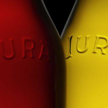 Bouteille de vin du Jura