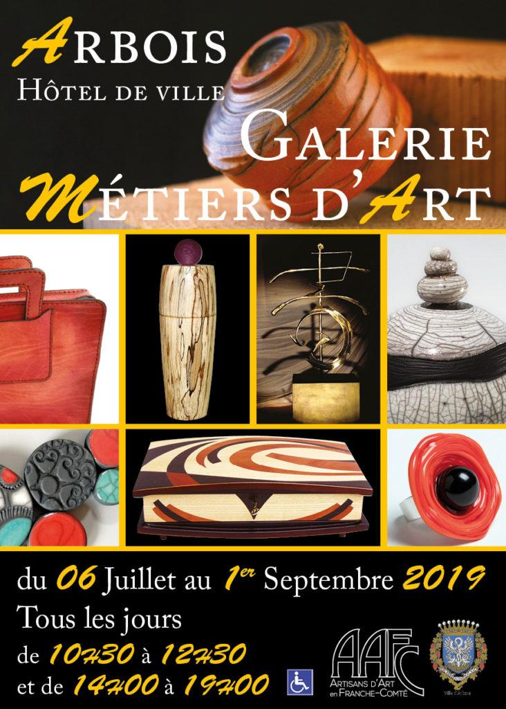 Galerie des métiers d'art à Arbois